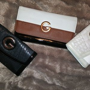 3 Guess wallets (ladies)